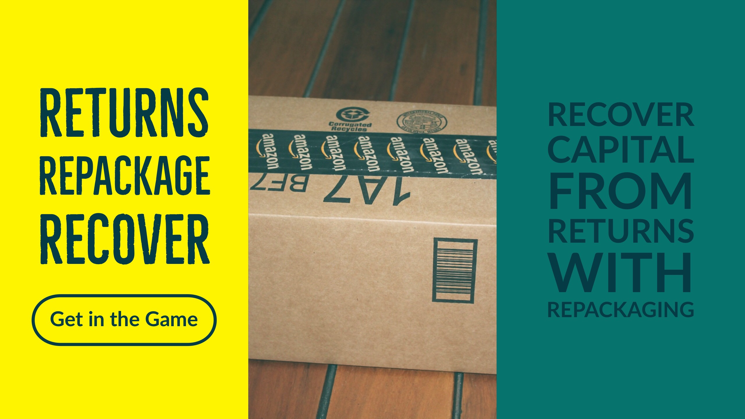 Amazon Returns Repackaging Service - American eBox